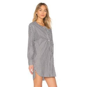 Stateside Revolve Oxford Shirting Tunic Dress